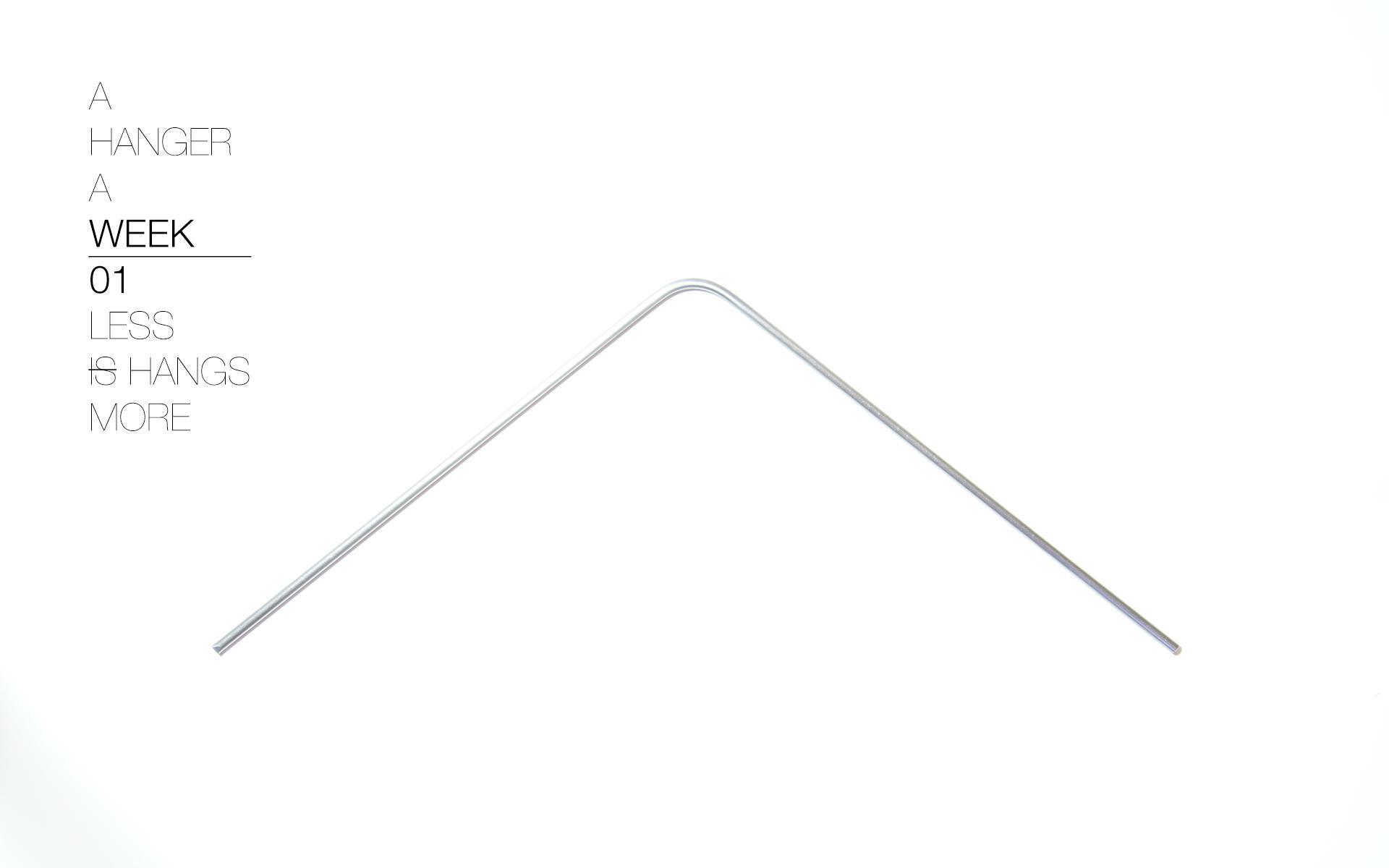 A Hanger A Week > Experimentando con colgadores