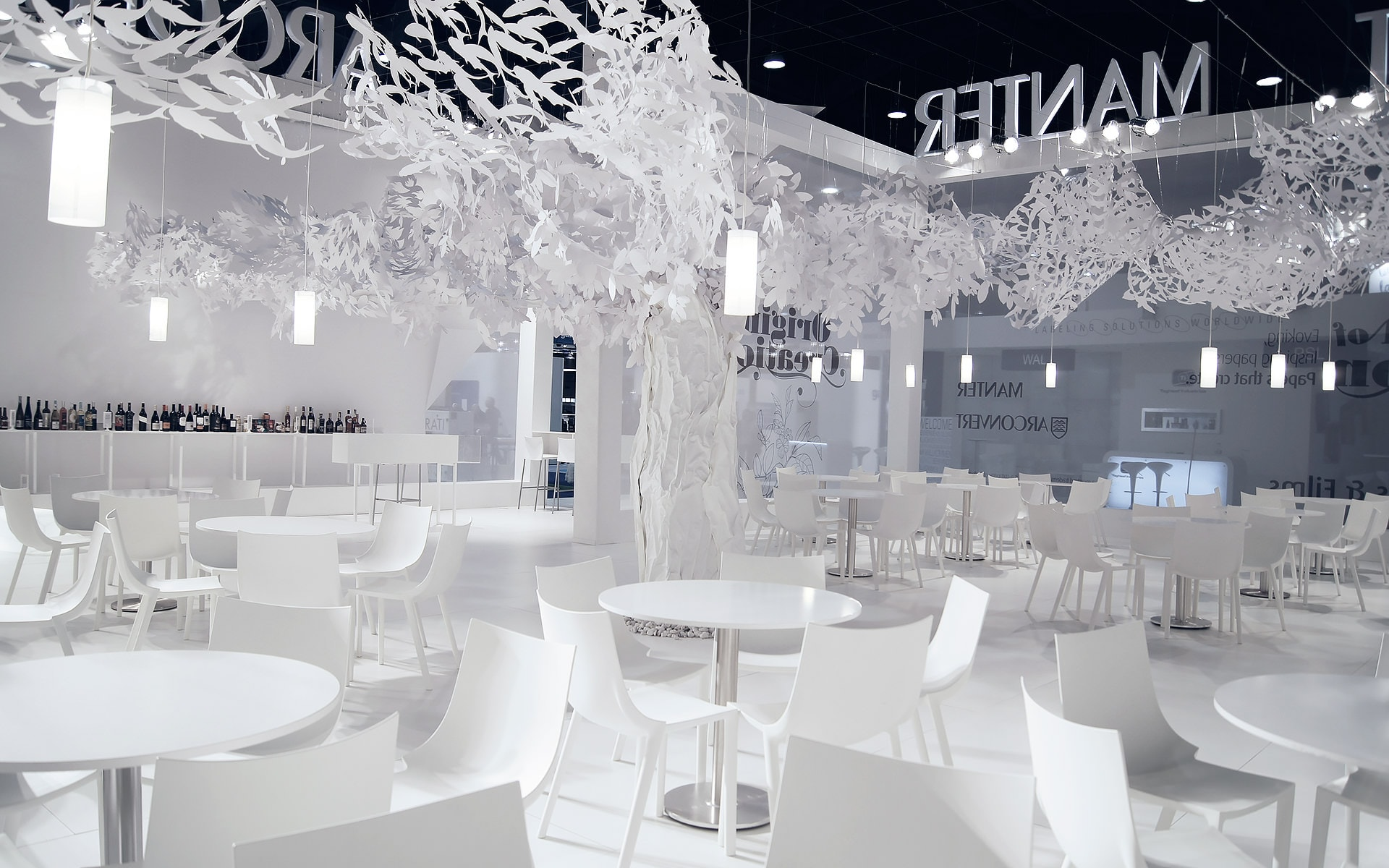 Manter Labelexpo trade fair (EXPO) stand design