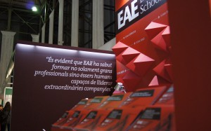 Paper stand design in Barcelona